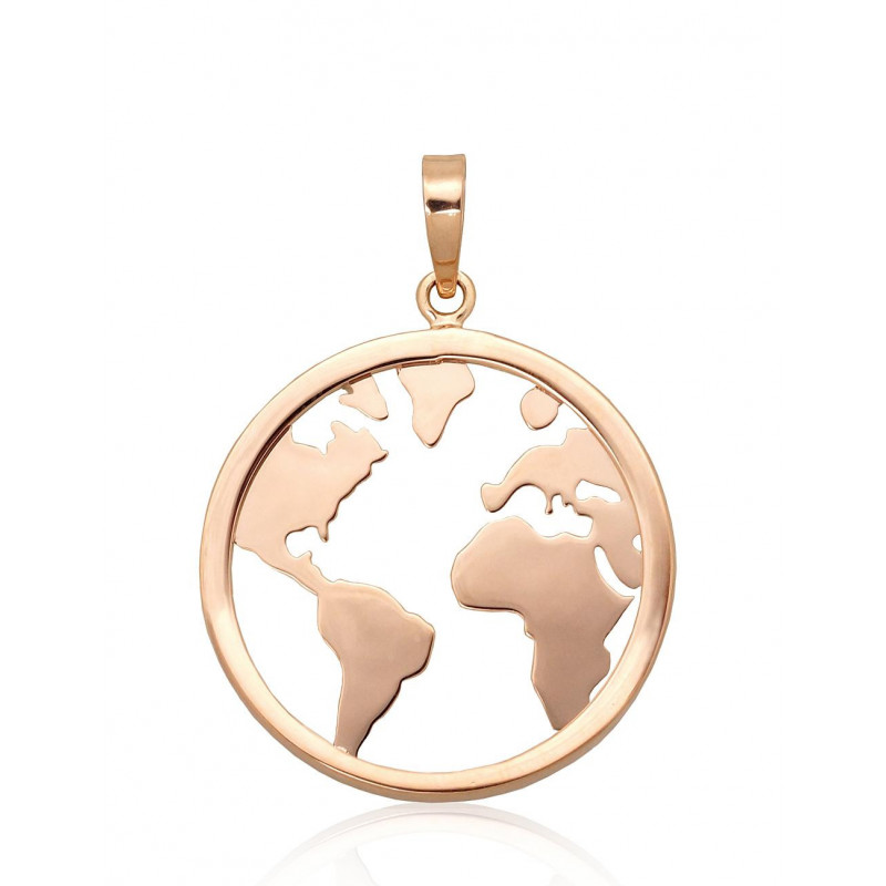 Gold pendant 1300817(Au-R), Red Gold585°