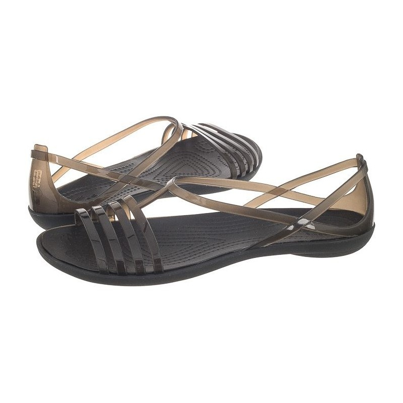 29968366d2d3 Crocs Isabella Sandal W Black 202465-001 (CR100-a) sandalai. Loading zoom