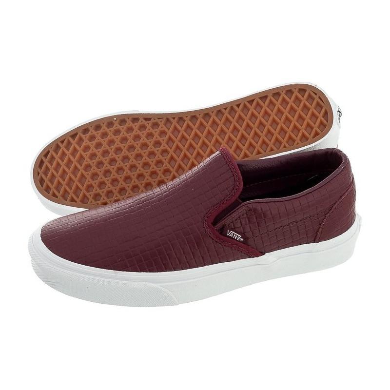 Vans Classic Slip-On (Emboss Check) VN-0ZMRFEM (VA46-a) shoes ...