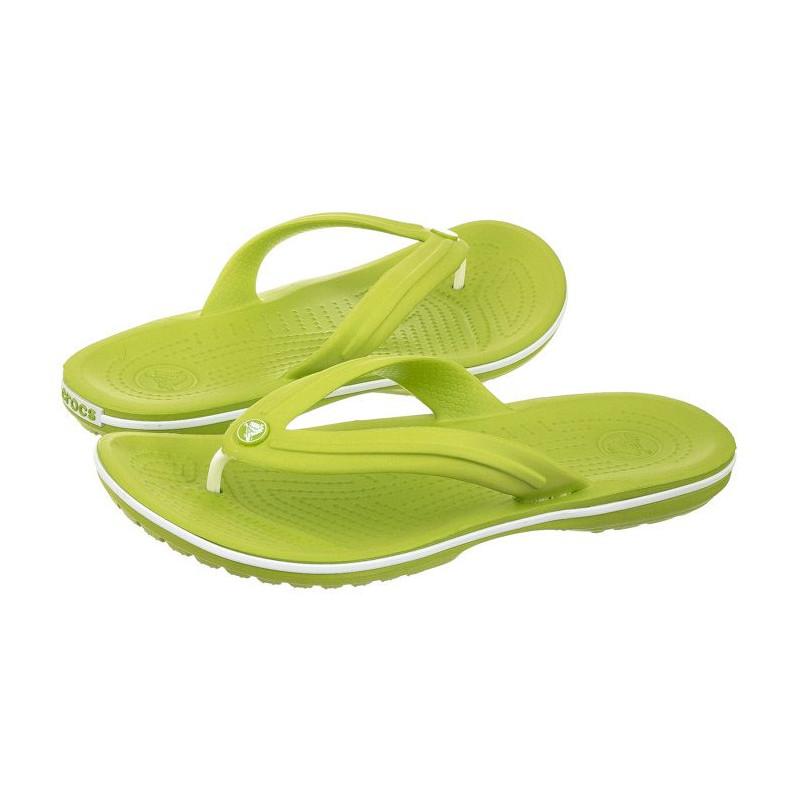 b7d89ce05ea Crocs Crocband Flip Volt Green 11033-394 (CR86-d) slippers -