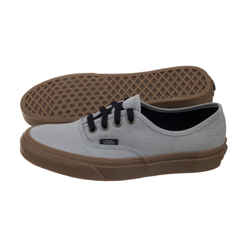 Vans Authentic (Gum Outsole) AlloyBlack VA38EMU40 (VA221 a) shoes