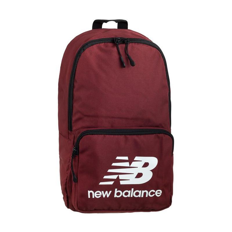 New Balance Classic Backpack NTBCBPK8 Burgundy (NB298-b) kuprinės