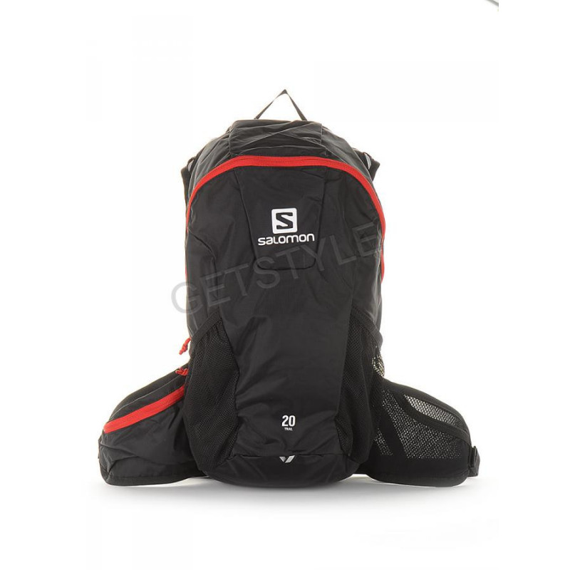 bas prix 61cb6 22893 Plecak Salomon Trail 20 Black/Bright Red backpack -