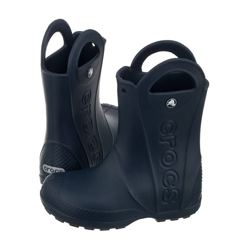 91786d50662 Crocs Handle Rain Boot Kids Sea Blue 12803-430 (CR79-f) avalynė. Loading  zoom