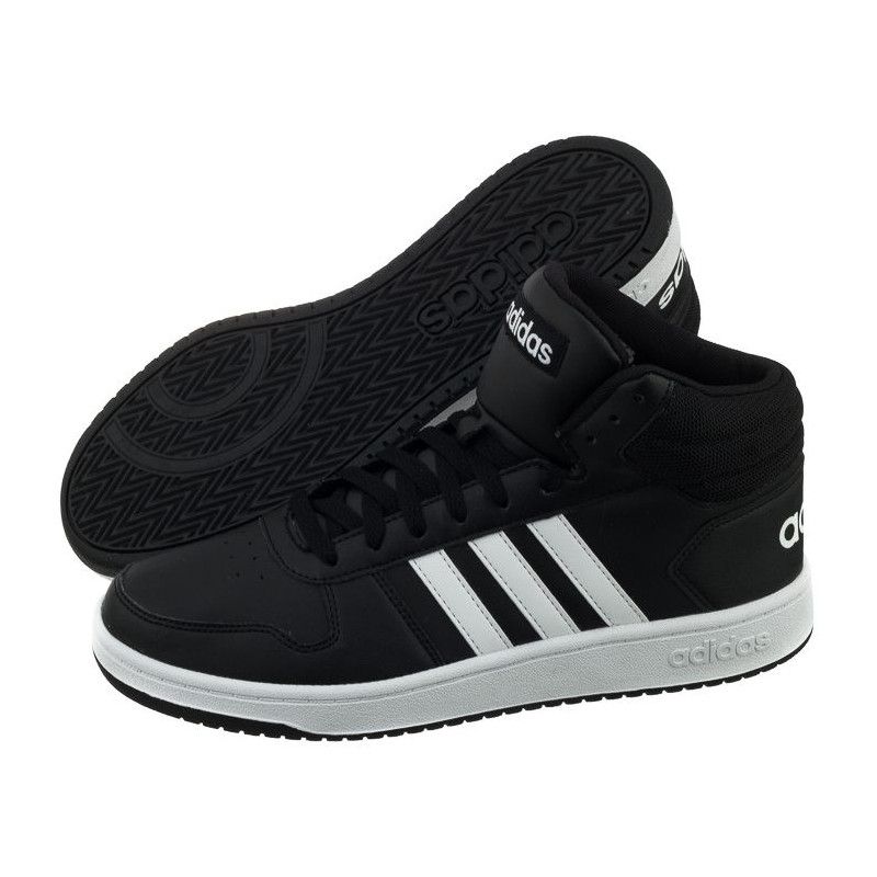 Adidas Hoops 2.0 Mid BB7207 (AD806-a) shoes - Casual shoes for men 244813e04