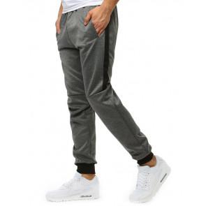 Kelnės (Spodnie męskie dresowe antracytowe(ux1870)