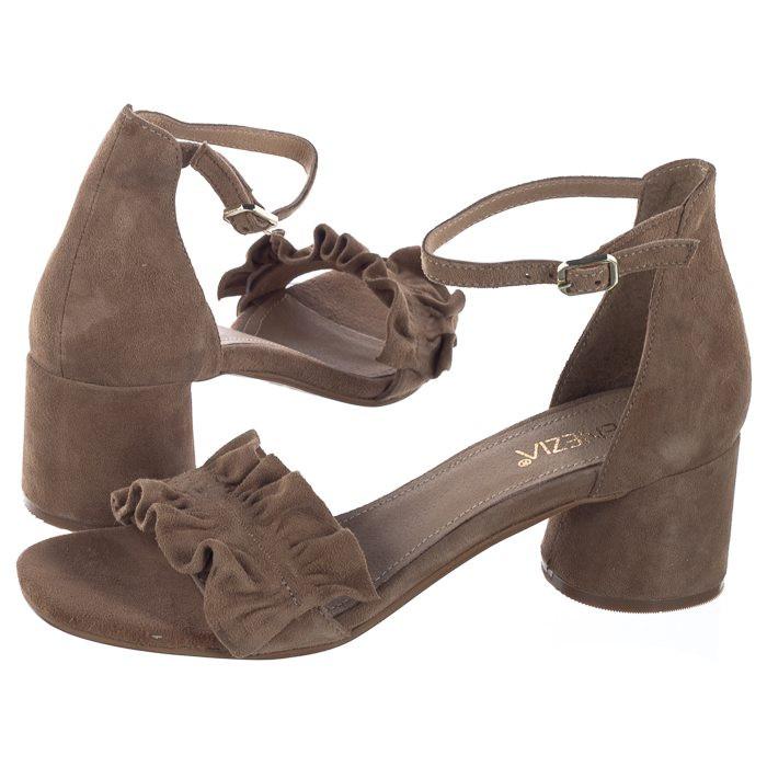 828982bec85c5 Venezia Beżowe AMARA1801 BEI (VE305-a) shoes - High-heeled Shoes