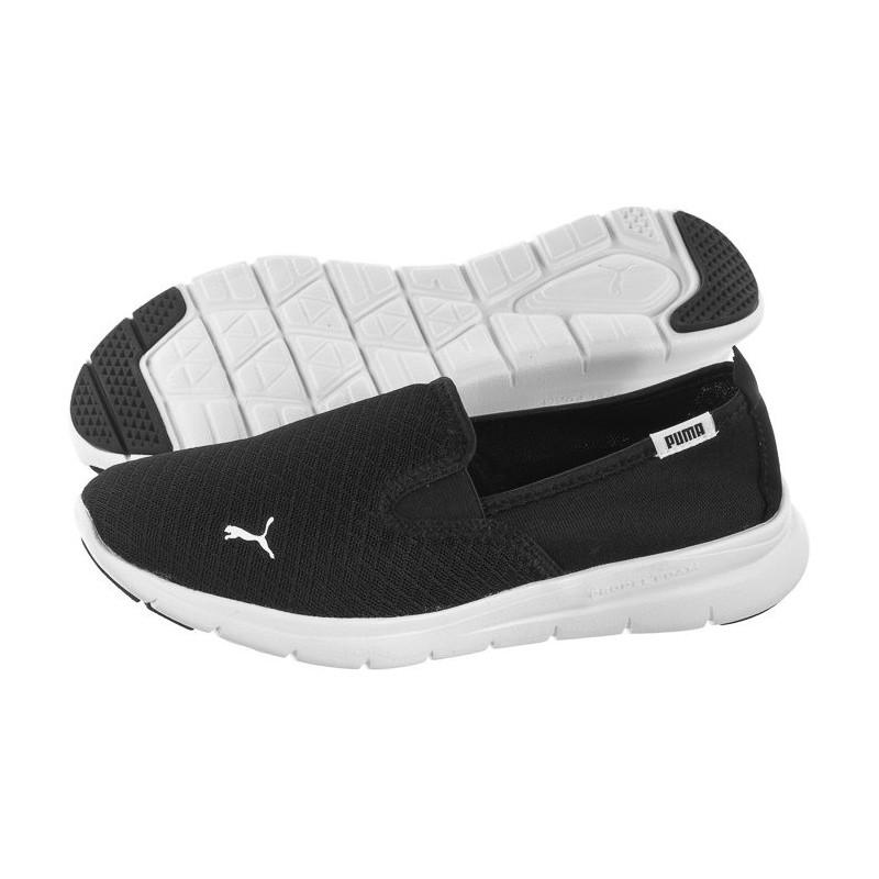 Dettagli su Puma Flex Essential Slip On Black White Women Casual Shoes Sneakers 365273 01