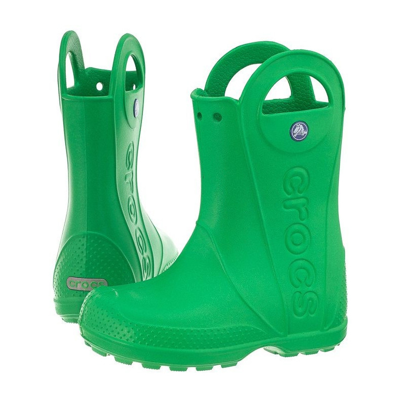 ad7d8d080ef Crocs Handle Rain Boot Kids Grass Green 12803-3E8 (CR79-c) avalynė