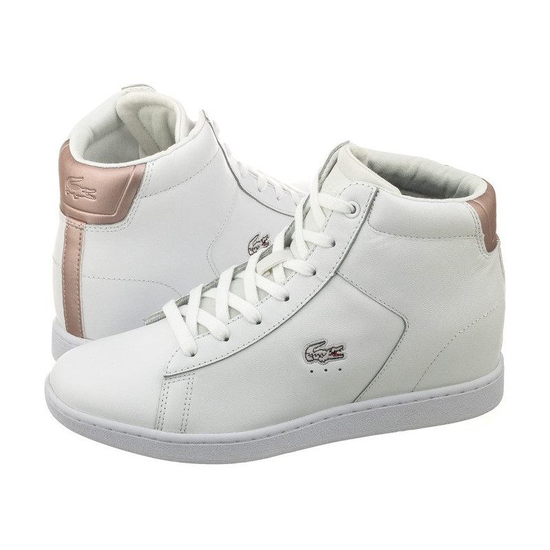lacoste wedge shoes