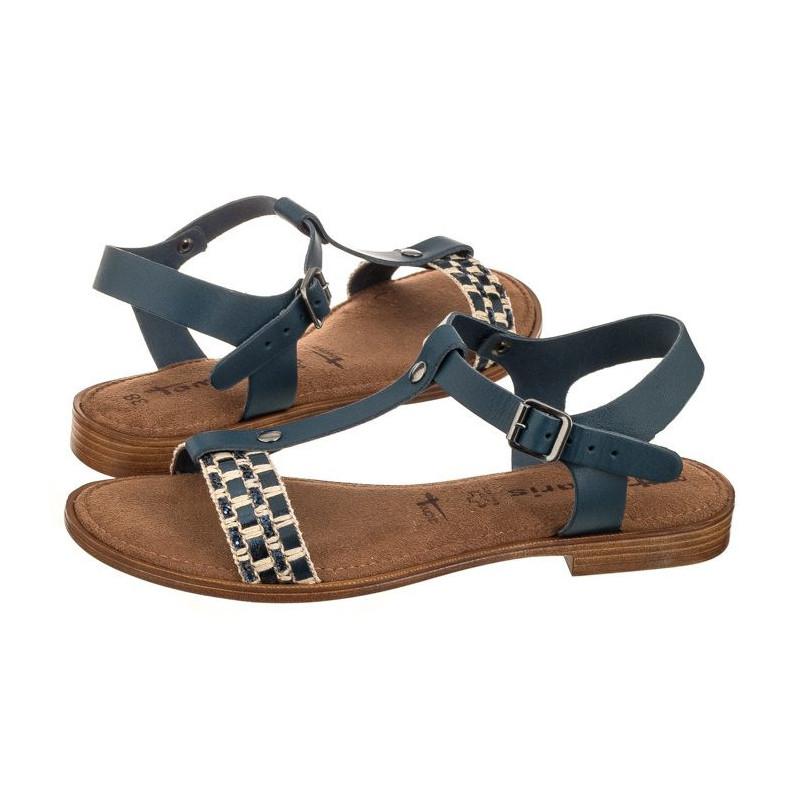 Tamaris Granatowe 1 28149 20 890 Navy Comb (TM132 a) sandal