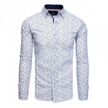 Marškiniai (Koszula męska PREMIUM z długim rękawem biała DX1821
