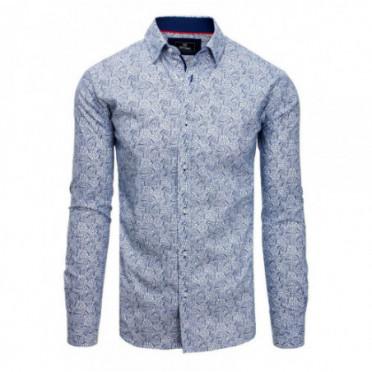 Marškiniai (Koszula męska PREMIUM z długim rękawem biała DX1817