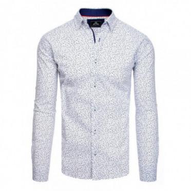 Marškiniai (Koszula męska PREMIUM z długim rękawem biała DX1824