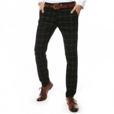 Kelnės (Spodnie męskie czarne UX2443