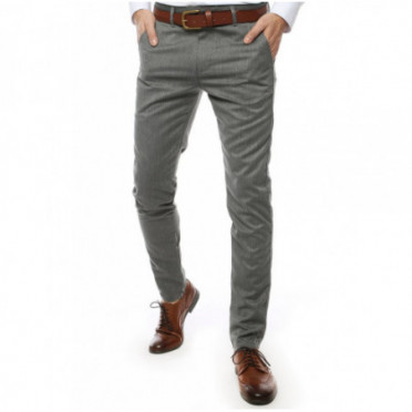Kelnės (Spodnie męskie jasnoszare UX2446