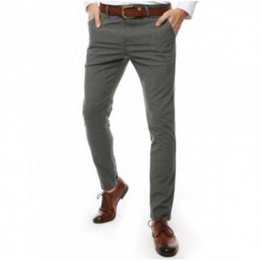 Kelnės (Spodnie męskie jasnoszare UX2450